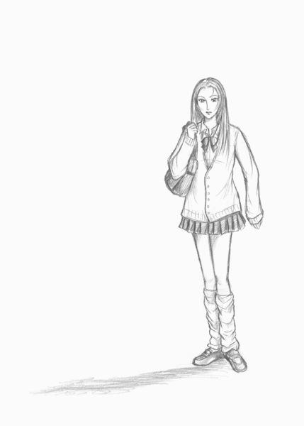 90年代の女子高生イメージイラスト.jpg