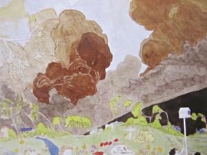 ヘンリー・ダーガー画集_雲の絵.JPG