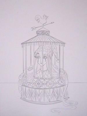 道化の籠メイキング1.JPG