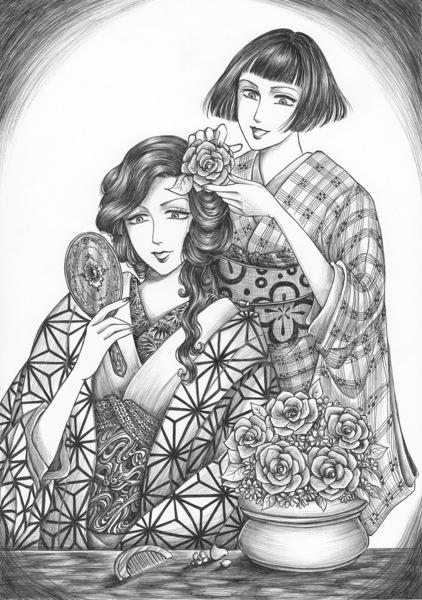 お花の髪飾り.jpg