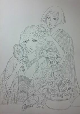 お花の髪飾りメイキング1.JPG