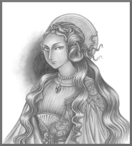 マグダラのマリア鉛筆画.jpg