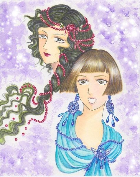 乙女たち青と赤.jpg