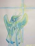 天使_水彩色鉛筆2.JPG