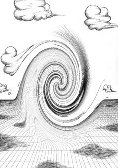 形而上的世界_永遠の雲_ぐにゃり2.jpg