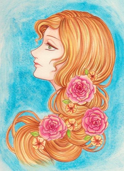 薔薇の髪飾りの乙女.jpg