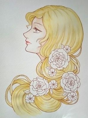 薔薇の髪飾りの乙女メイキング3.JPG