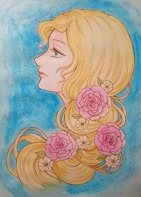 薔薇の髪飾りの乙女メイキング4.JPG