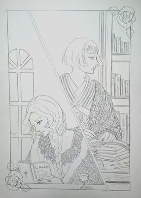 読書のひと時メイキング1.JPG