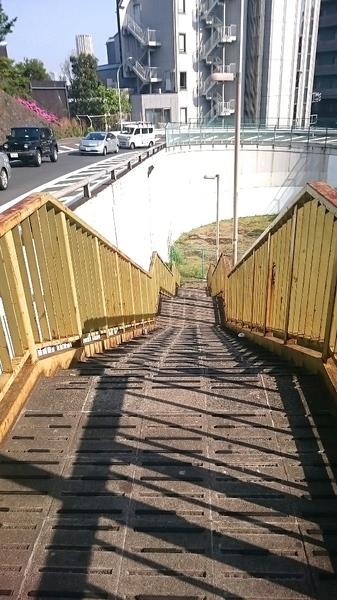 道玄坂黄色い階段.JPG