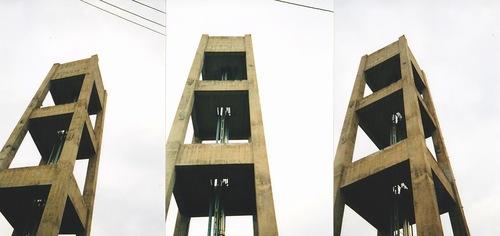 都営下馬アパートの昔の写真_給水塔.jpg